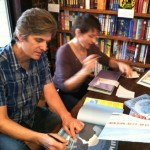 Lauren Thompson and Stephen Savage sign copies of, Polar Bear Morning at pH on 8th on January 13, 2013.