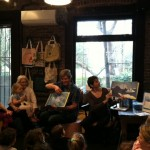 Lauren Thompson and Stephen Savage read from their book, Polar Bear Morning.
