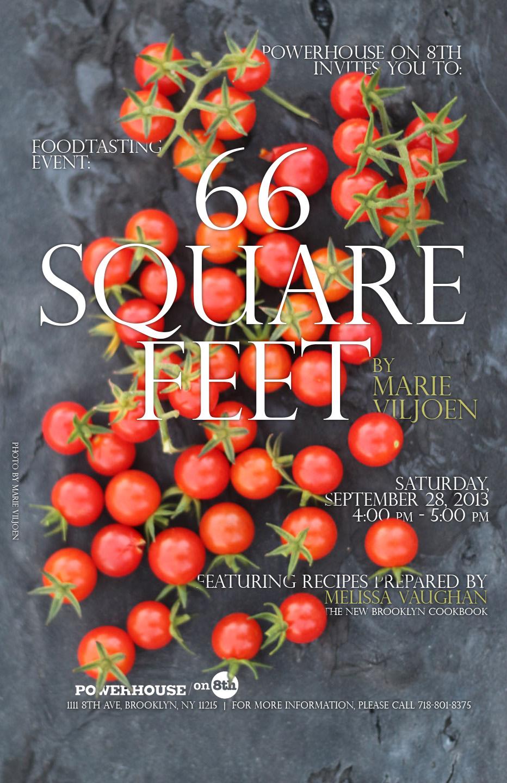 pH on 8th's Food-Tasting Series with Melissa Vaughan: 66 Square Feet by Marie Viljoen