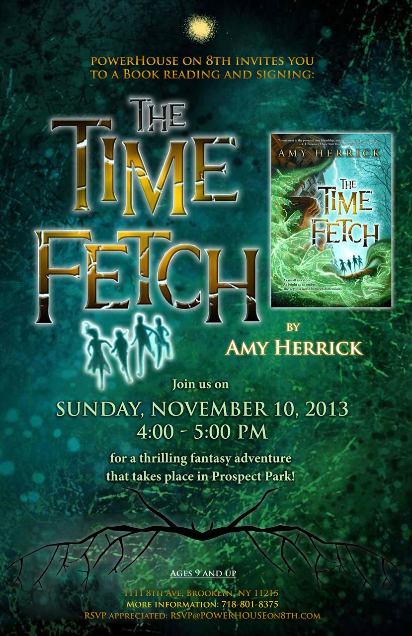 Book Party: The Time Fetch by Amy Herrick