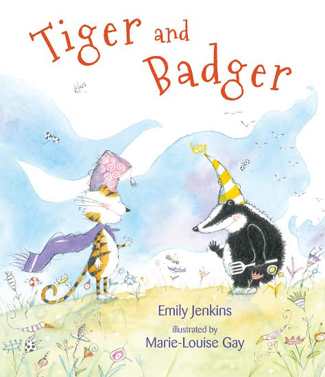Sunday Story Time with Emily Jenkins (author of Tiger and Badger)