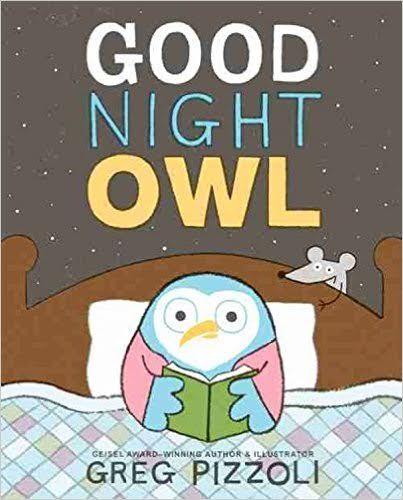 Sunday Story Time with Greg Pizzoli (author of Good Night Owl)