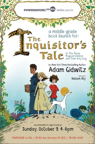 Book Launch: The Inquisitor's Tale by Adam Gidwitz