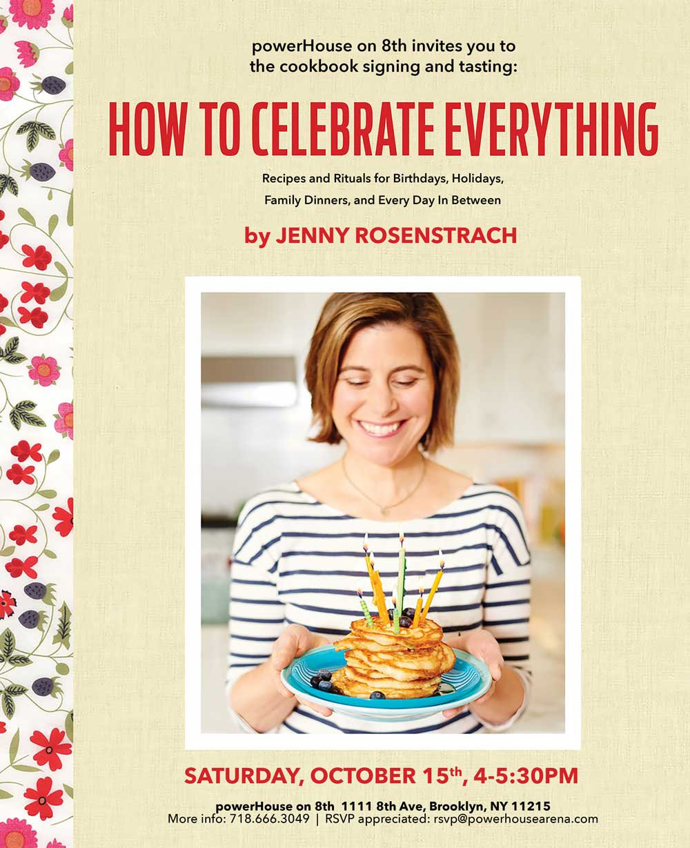 Cookbook Launch: How to Cook Everything by Jenny Rosenstrach