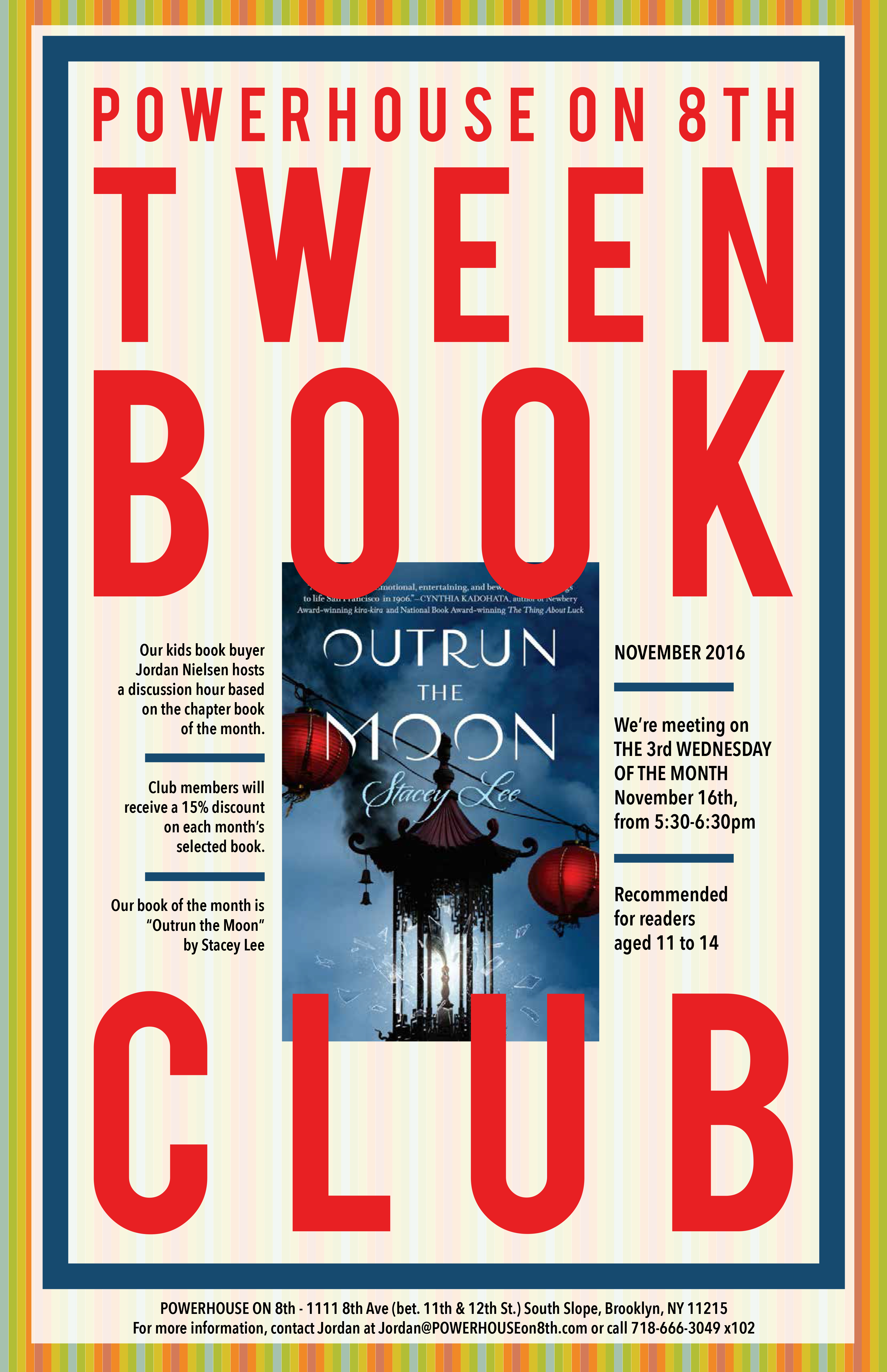 Tween Book Club: Outrun the Moon by Stacey Lee
