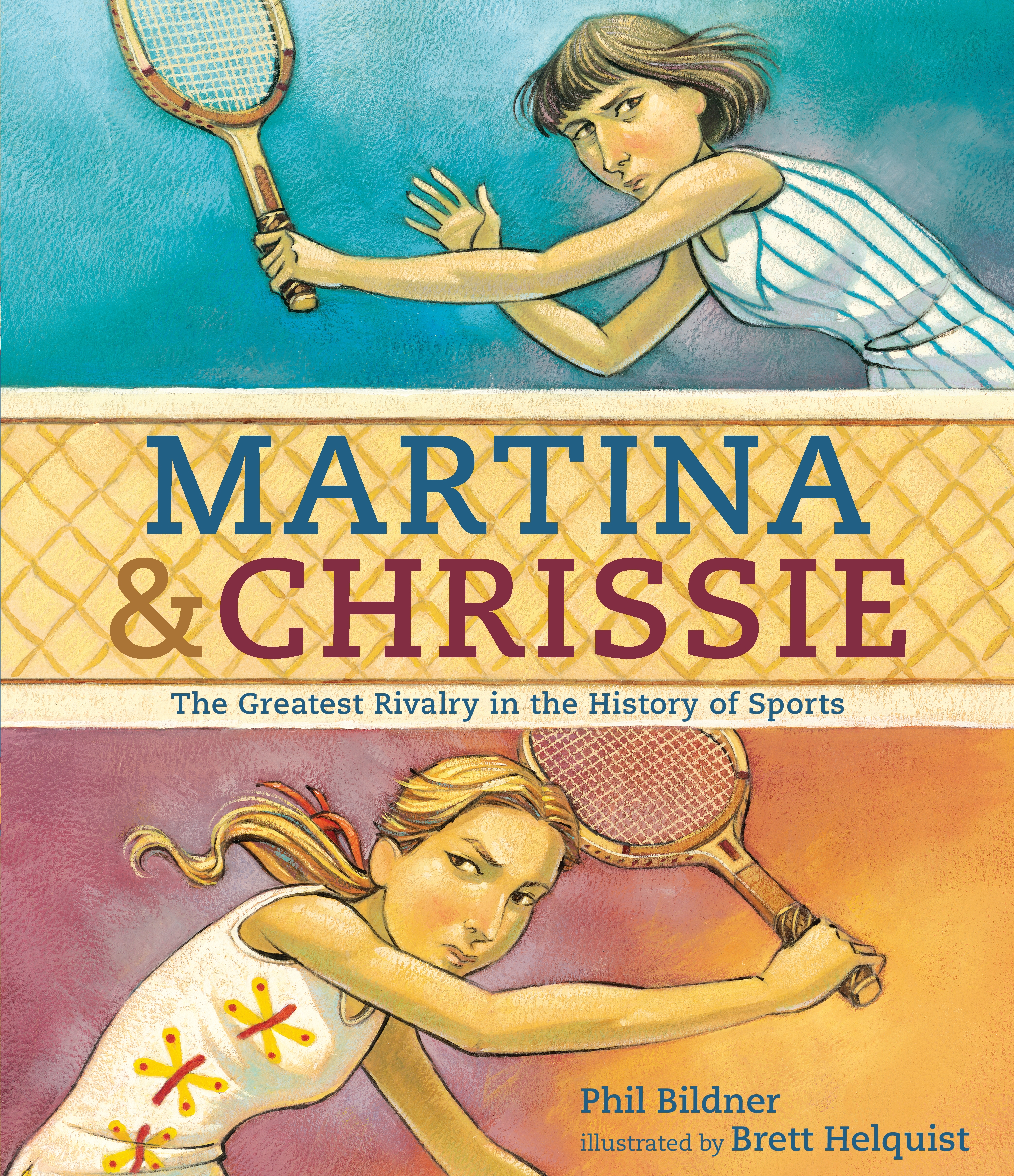 Sunday Story Time with Brett Helquist (Illustrator of Martina & Chrissie: The Greatest Rivalry in the History of Sports)