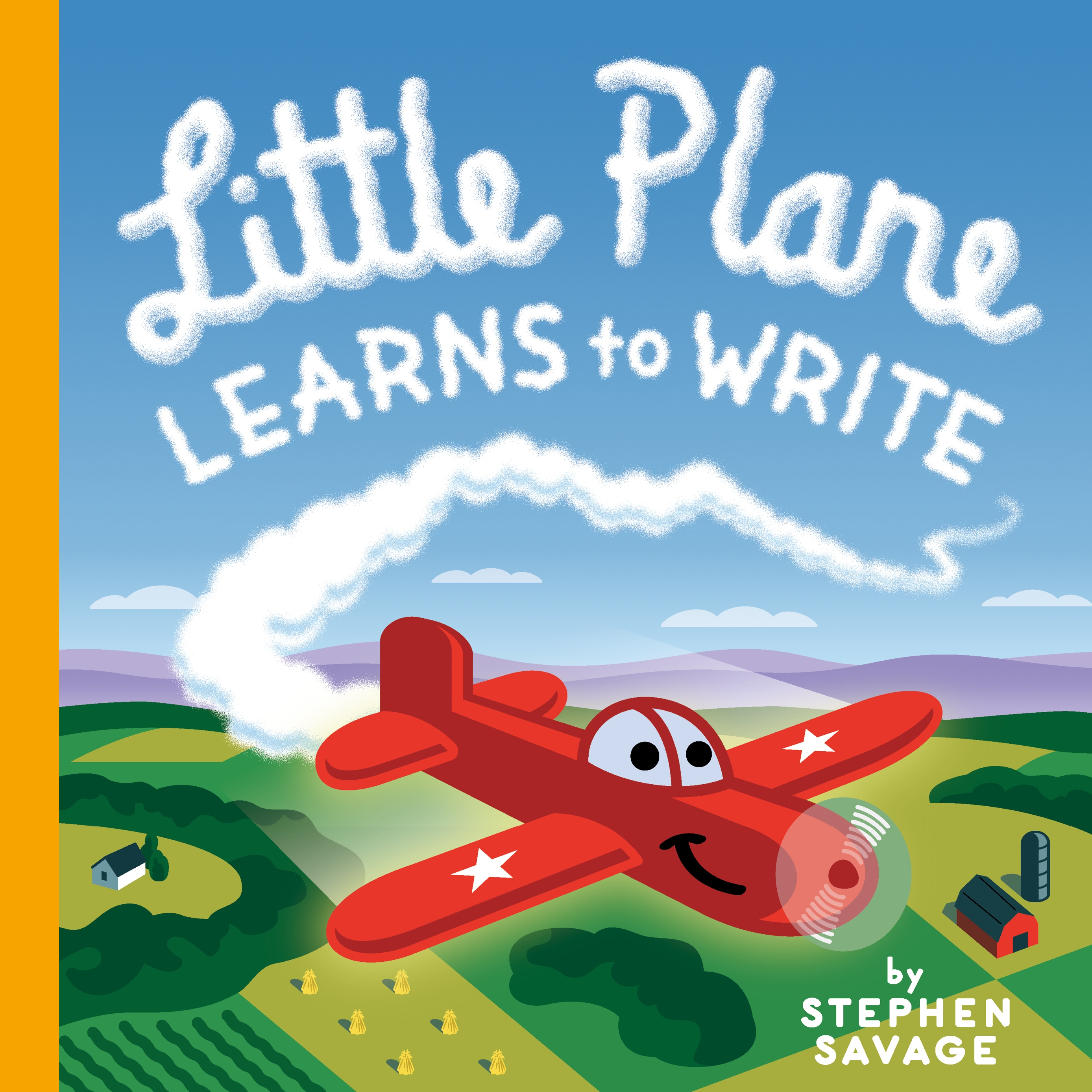 Sunday Story Time: Little Plane Learns to Write by Stephen Savage