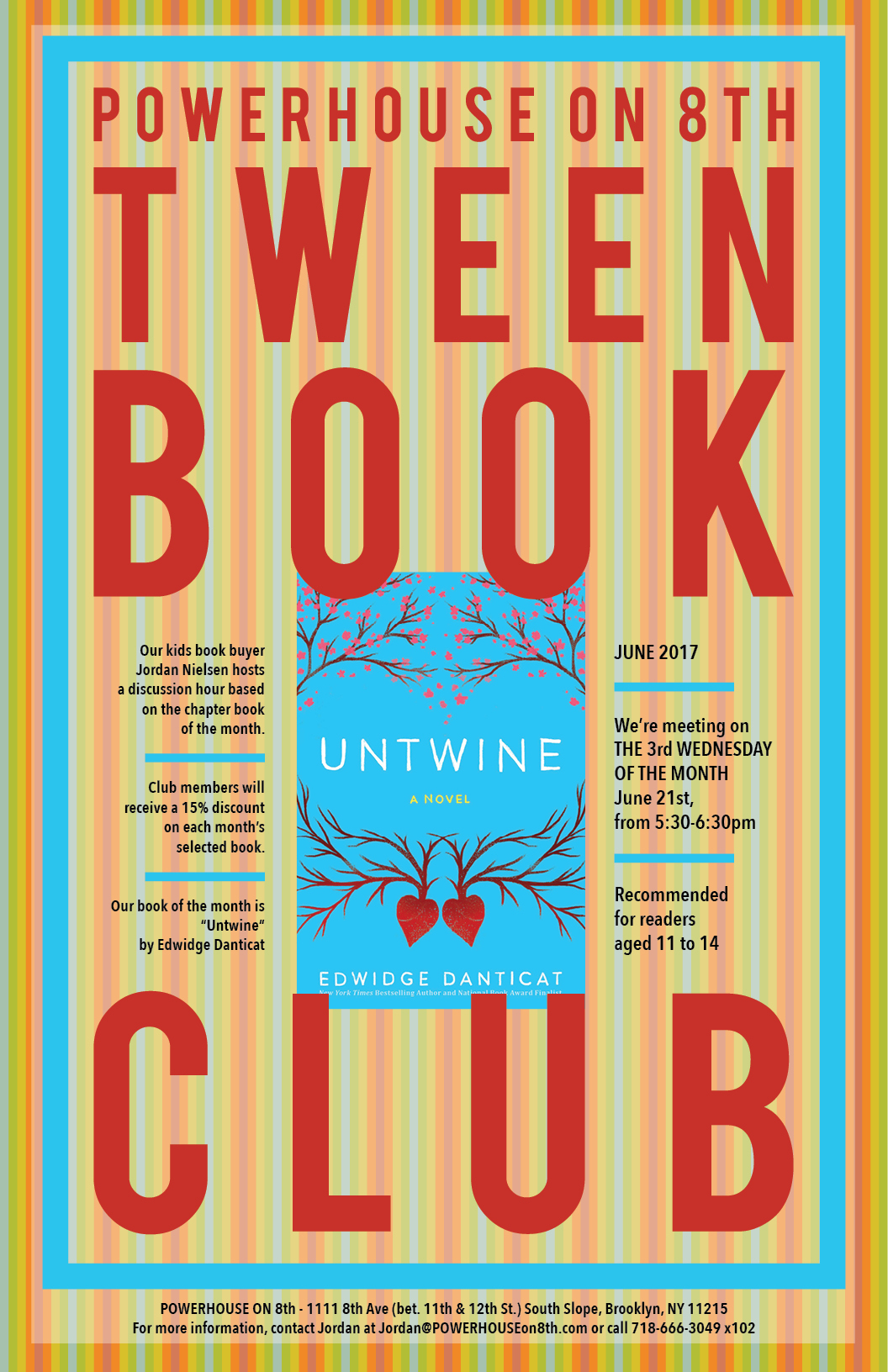 Tween Book Club: Untwine by Edwidge Danticat