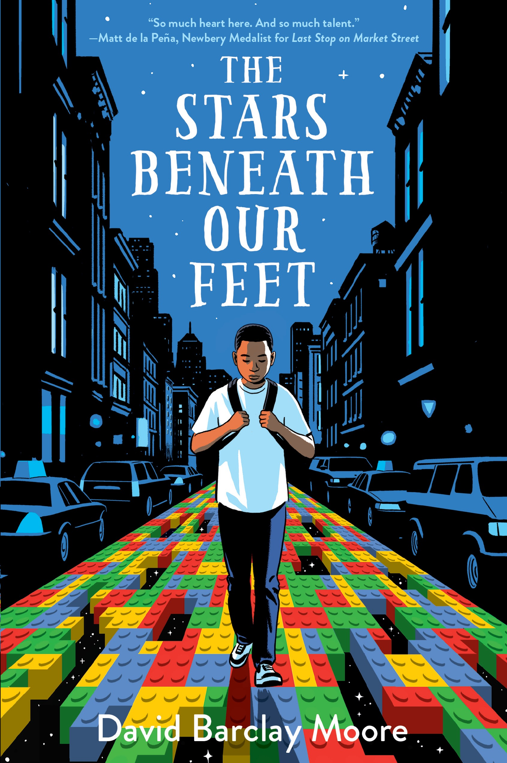 Tween Book Club: The Stars Beneath Our Feet by David Barclay Moore — Featuring a Visit from the Author!