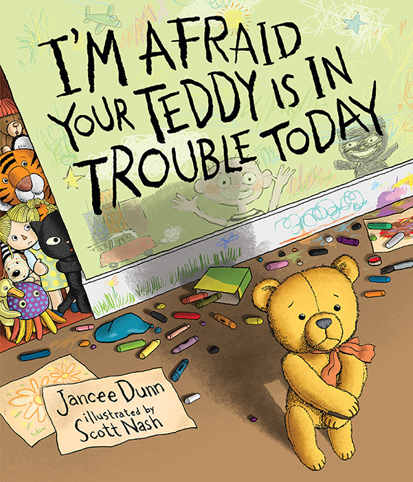 Sunday Story Time with Jancee Dunn (Author of I'm Afraid Your Teddy Is In Trouble Today)
