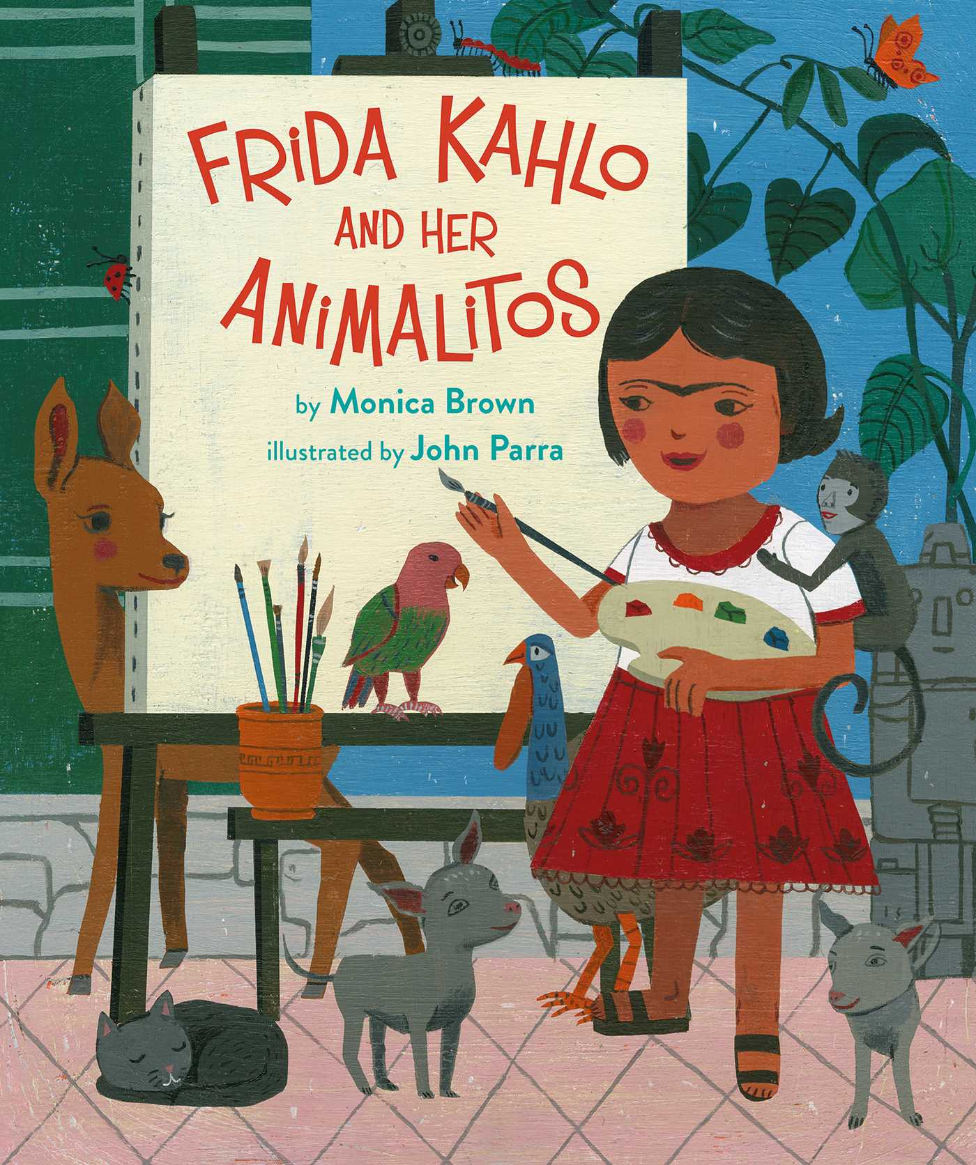 Sunday Story Time with John Parra (Illustrator of Frida Kahlo and Her Animalitos)