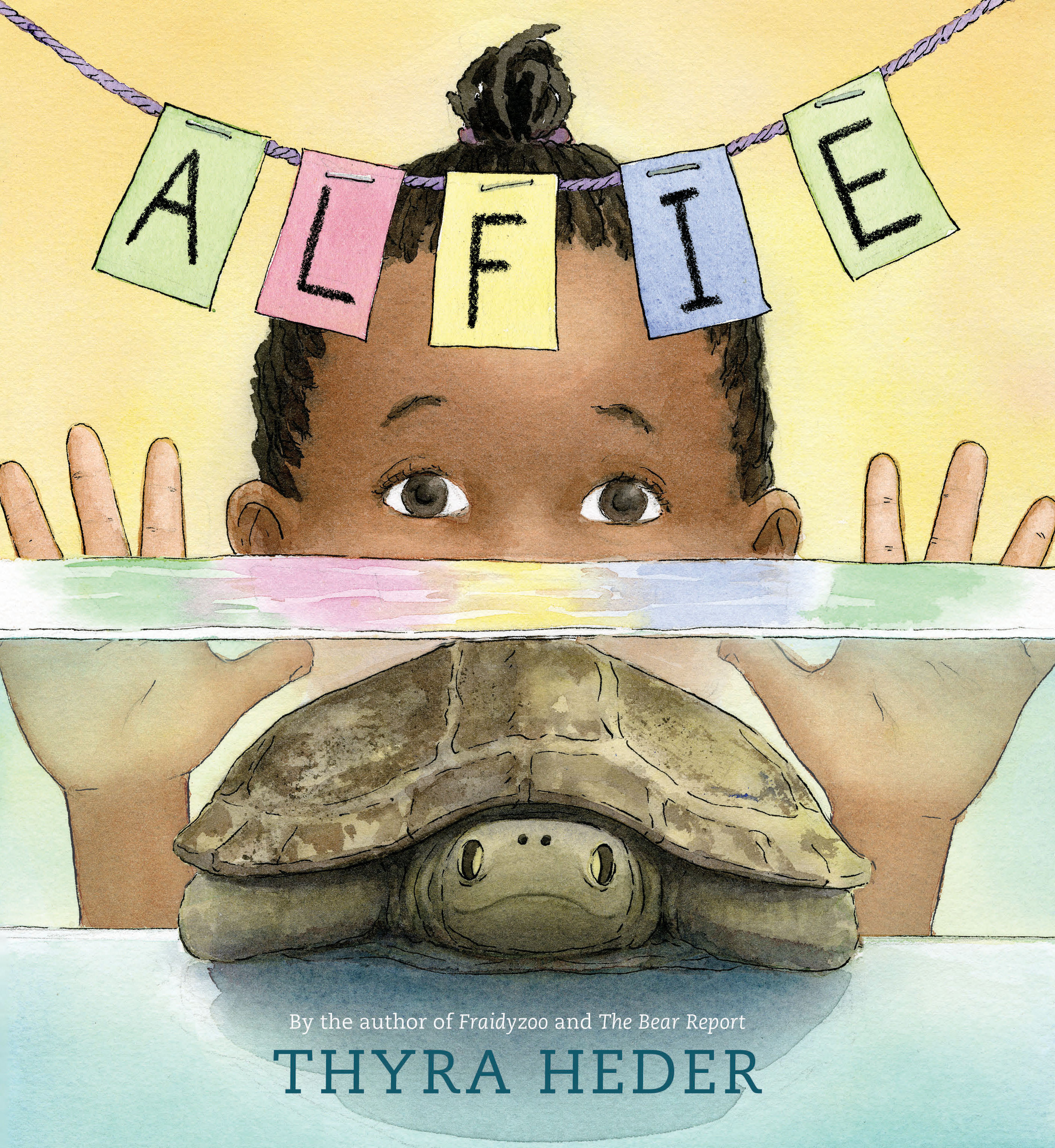 Sunday Story Time with Thyra Heder (Author & Illustrator of Alfie)