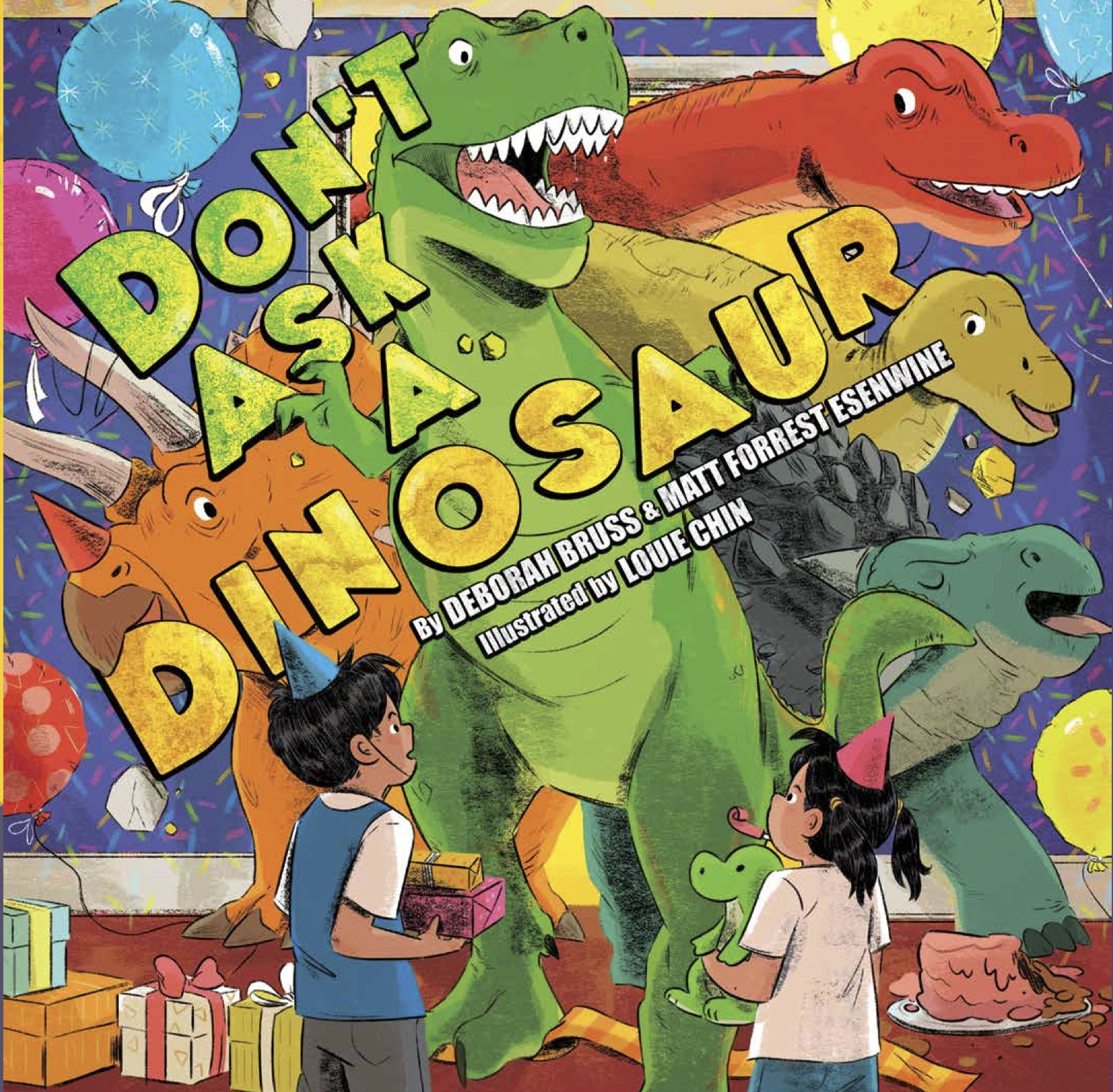 Sunday Story Time with Louie Chin (Illustrator of Don't Ask a Dinosaur)