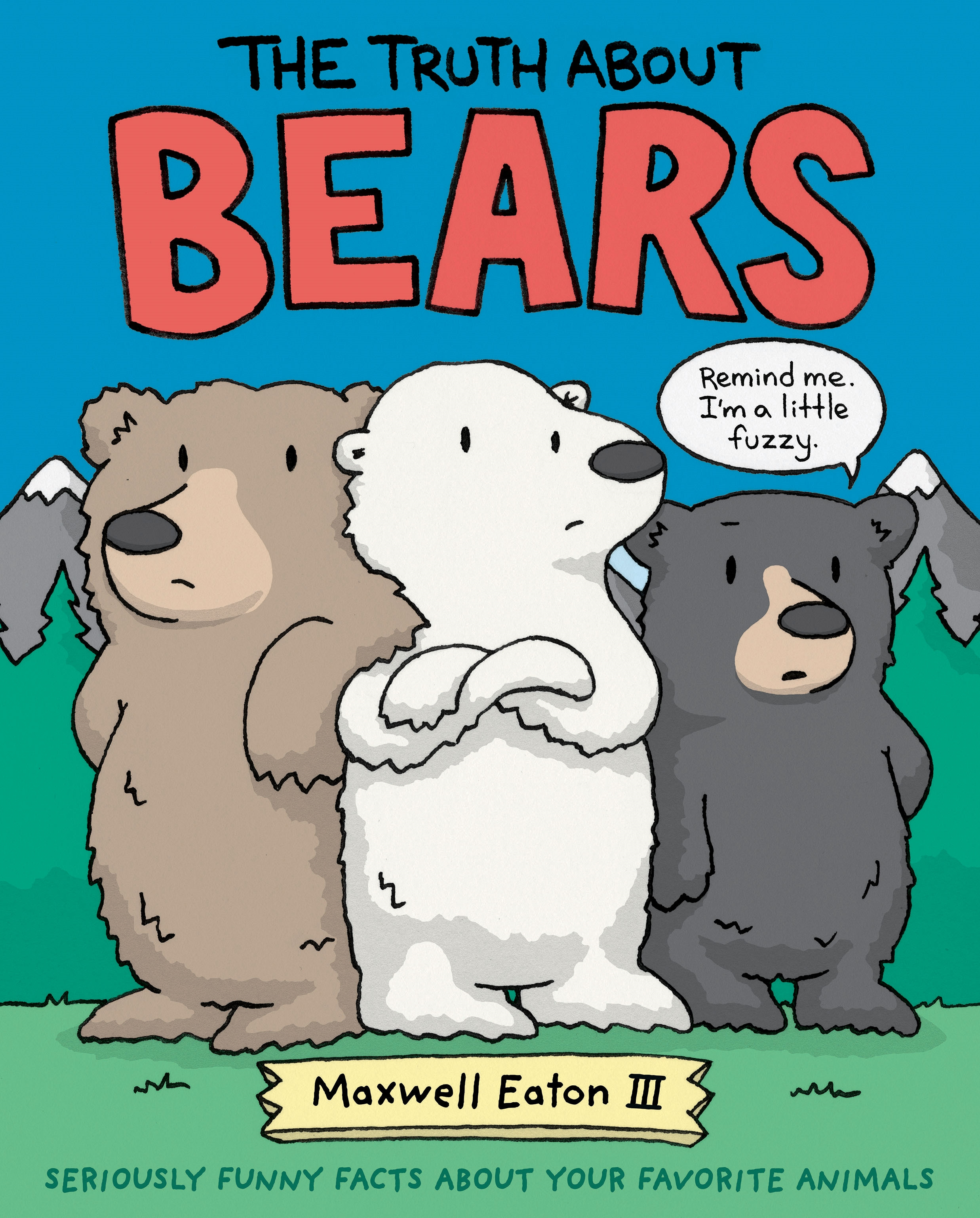 Sunday Story Time with Maxwell Eaton III (Author/Illustrator of The Truth About Bears & The Truth About Hippos)