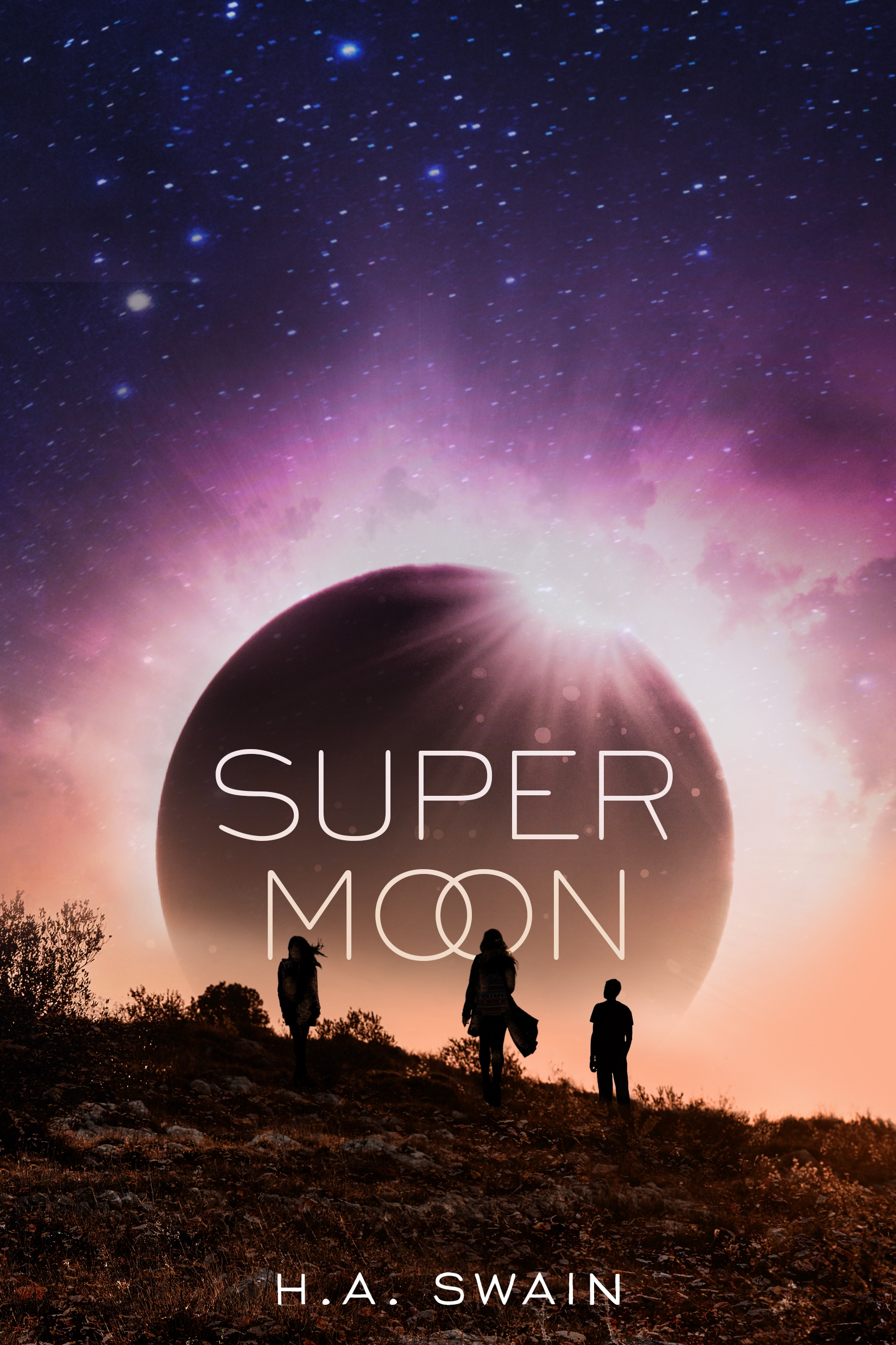 YA Book Event: SuperMoon by H.A. Swain