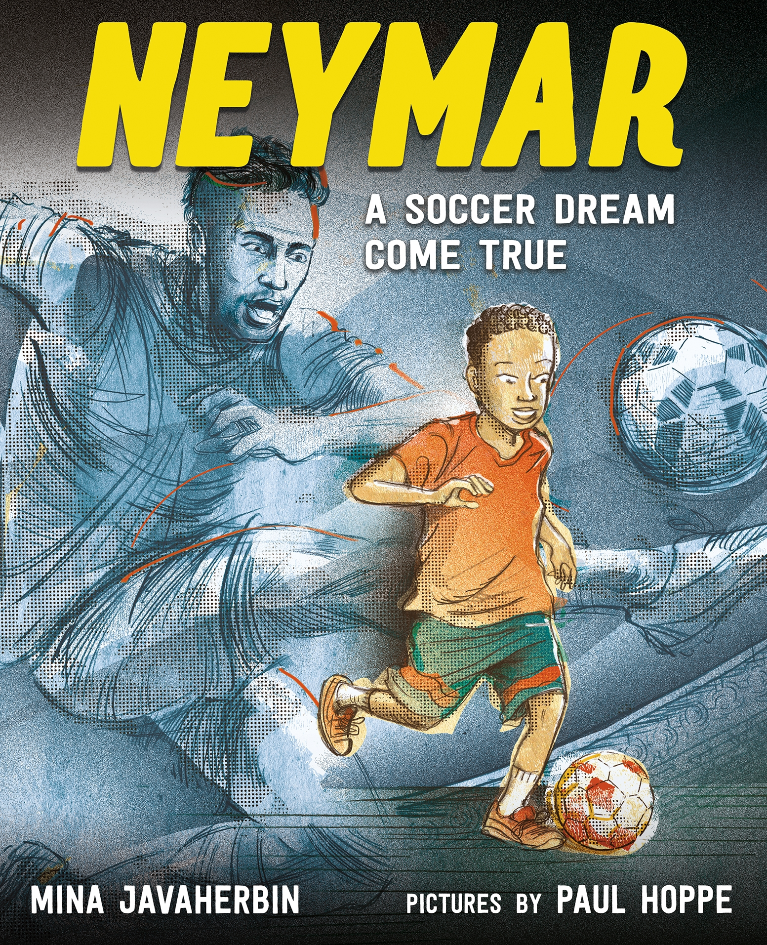 Sunday Story Time with Paul Hoppe (Illustrator of Neymar: A Soccer Dream Come True)