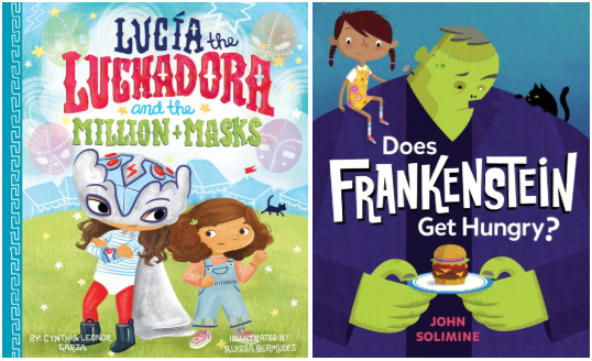 Joint Sunday Story Time with Alyssa Bermudez (Illustrator of Lucia the Luchadora and the Million Masks) and John Solimine (Author & Illustrator of Does Frankenstein Get Hungry?)