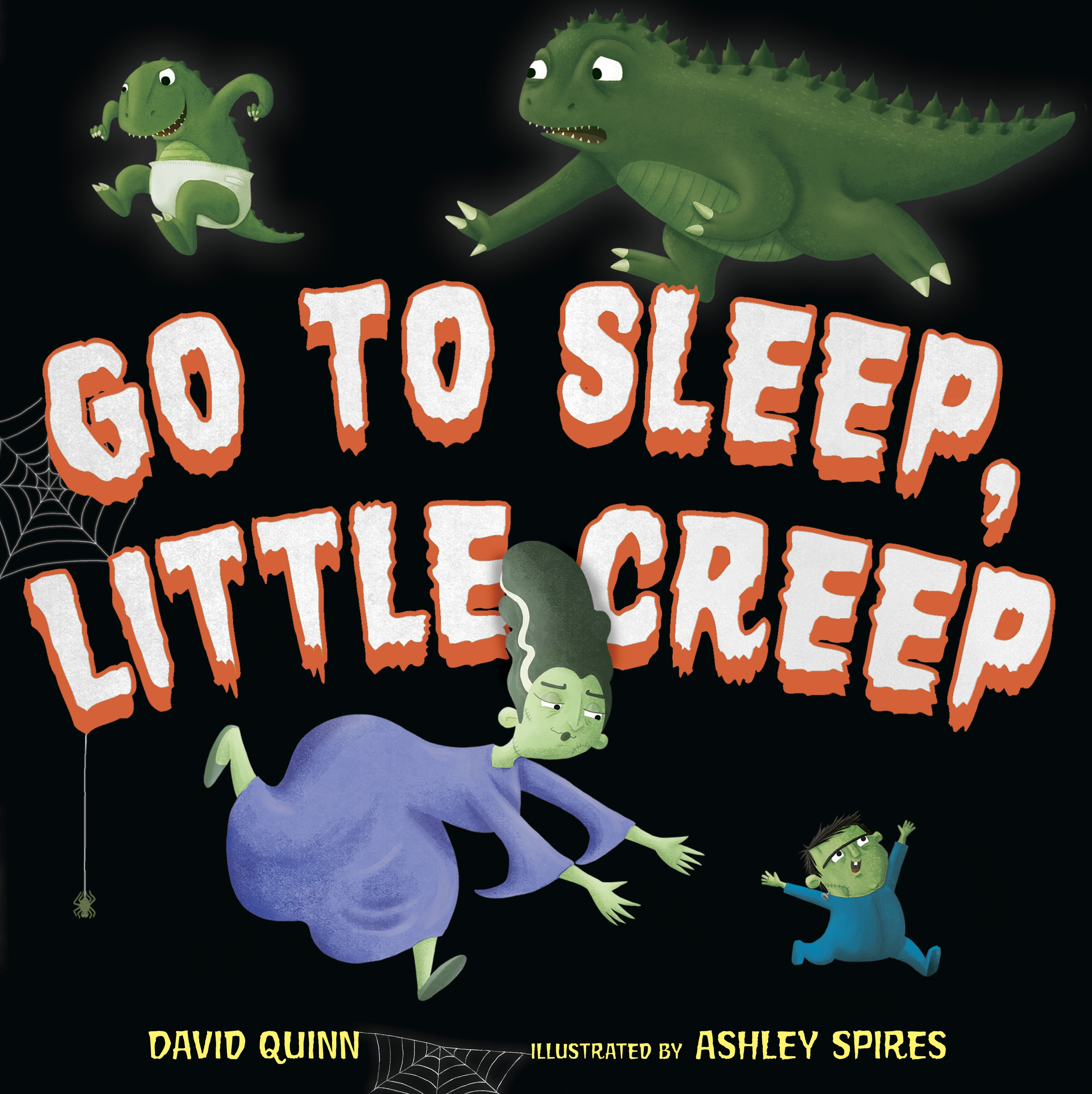 Sunday Story Time with David Quinn (Author of Go to Sleep, Little Creep)
