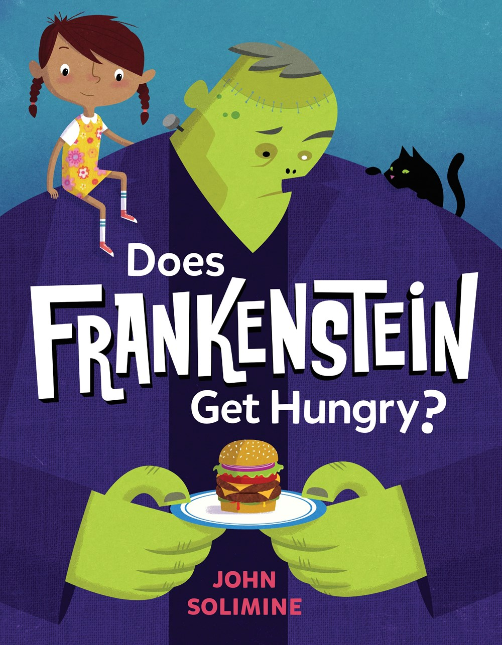 Sunday Story Time with John Solimine (Author & Illustrator of Does Frankenstein Get Hungry?)
