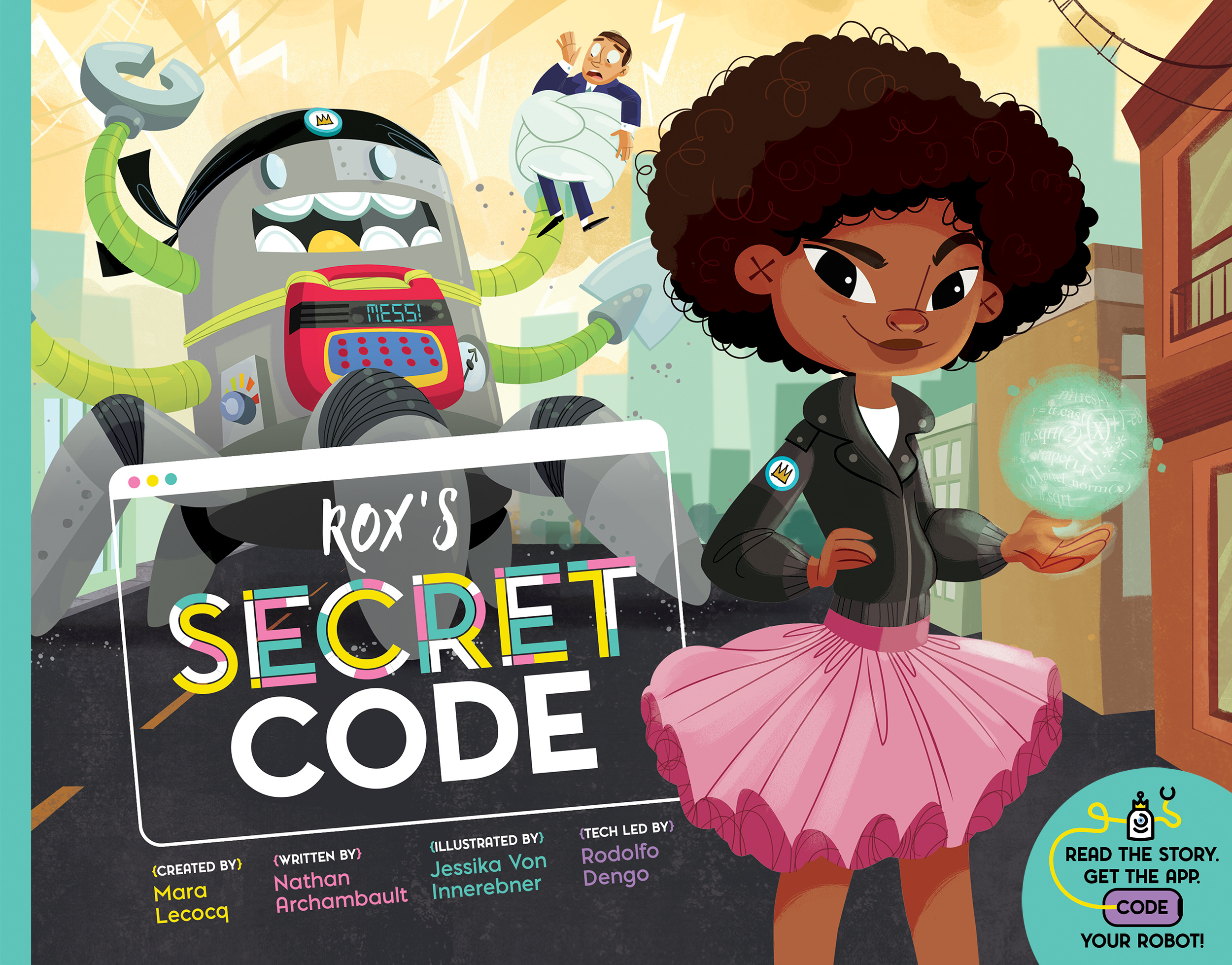 POW! Sunday Story Time with Mara Lecocq and Nathan Archambault (authors of Rox's Secret Code)