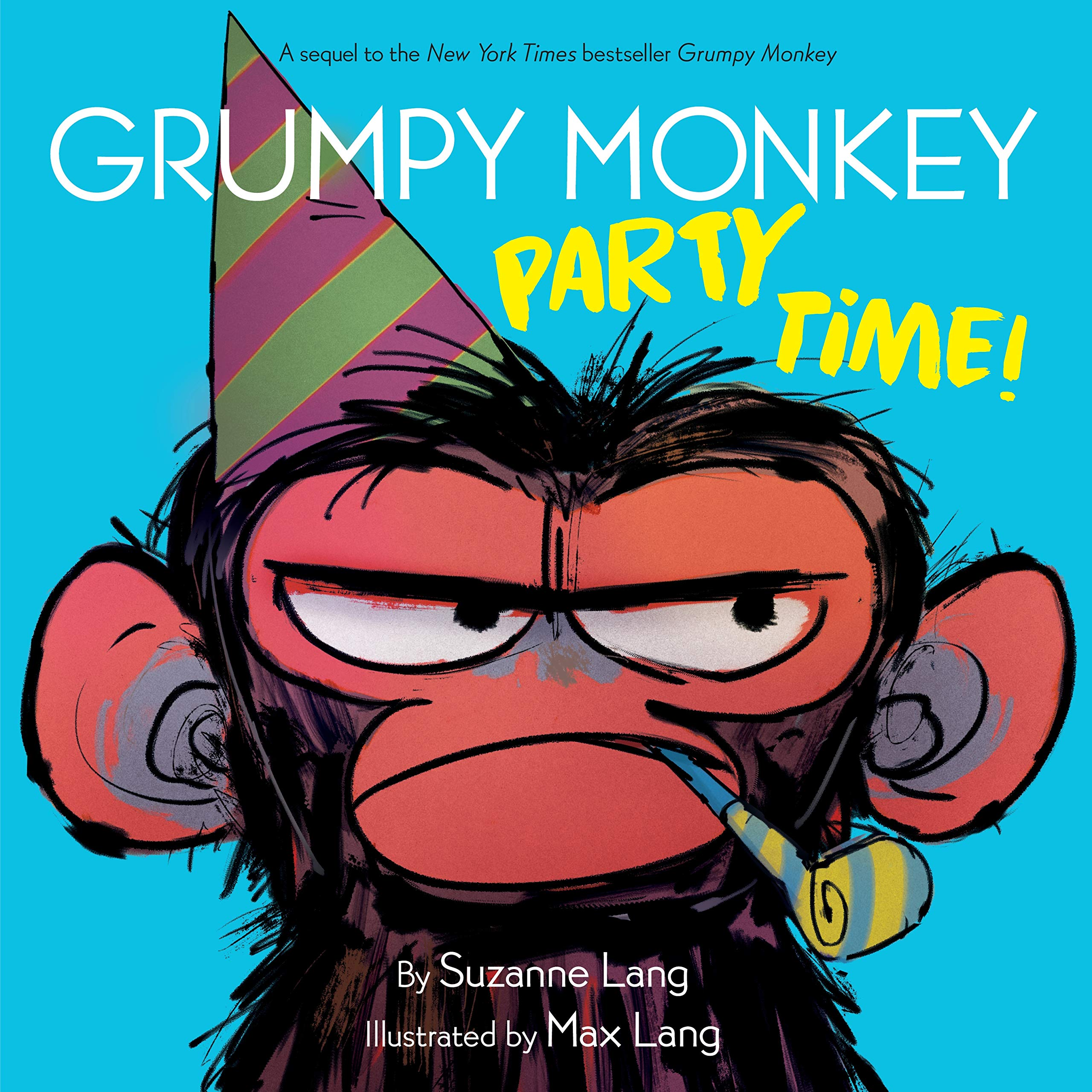 Sunday Story Time with Grumpy Monkey Party Time!