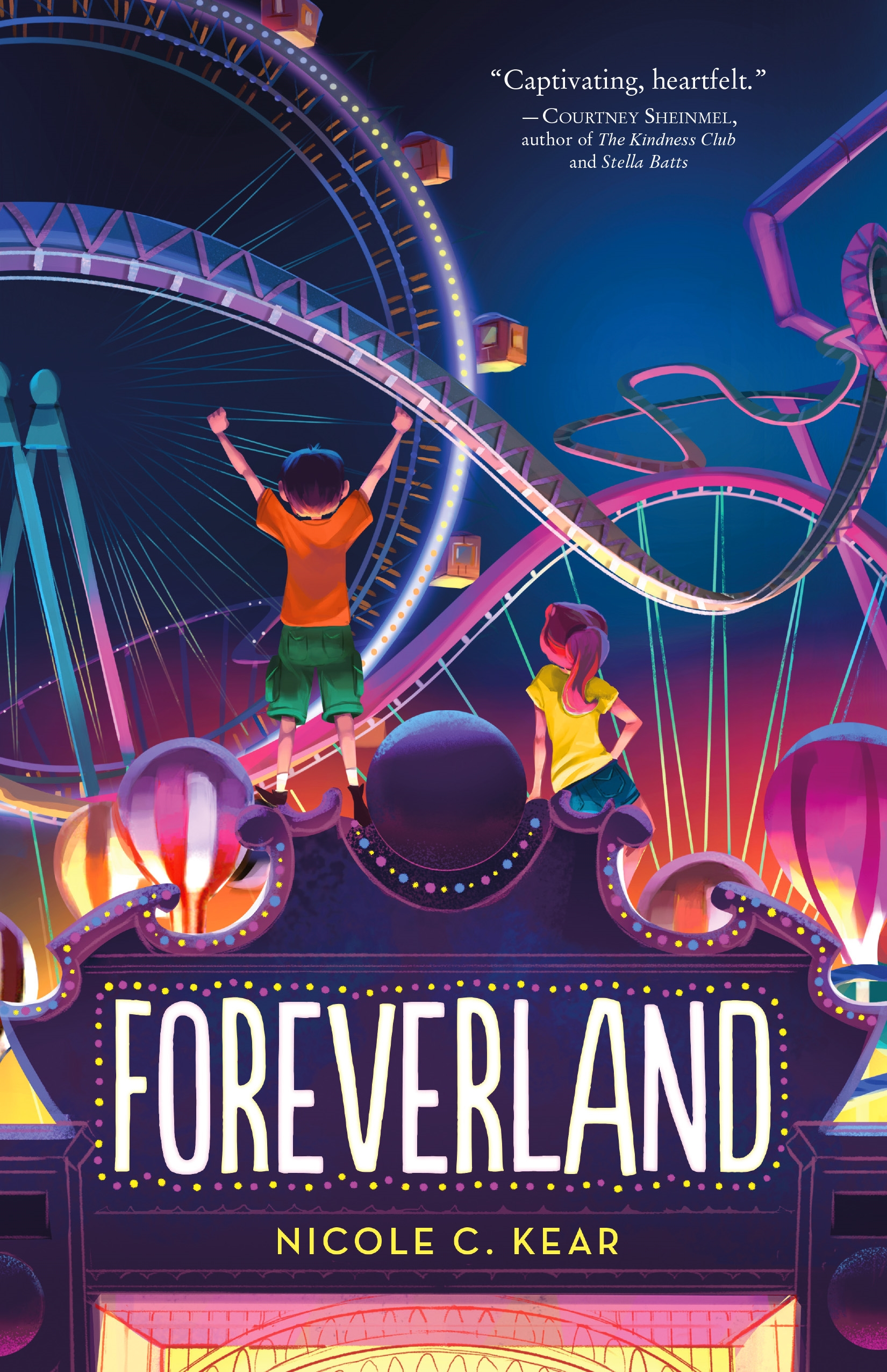 Middle Grade Book Launch: Foreverland by Nicole C. Kear
