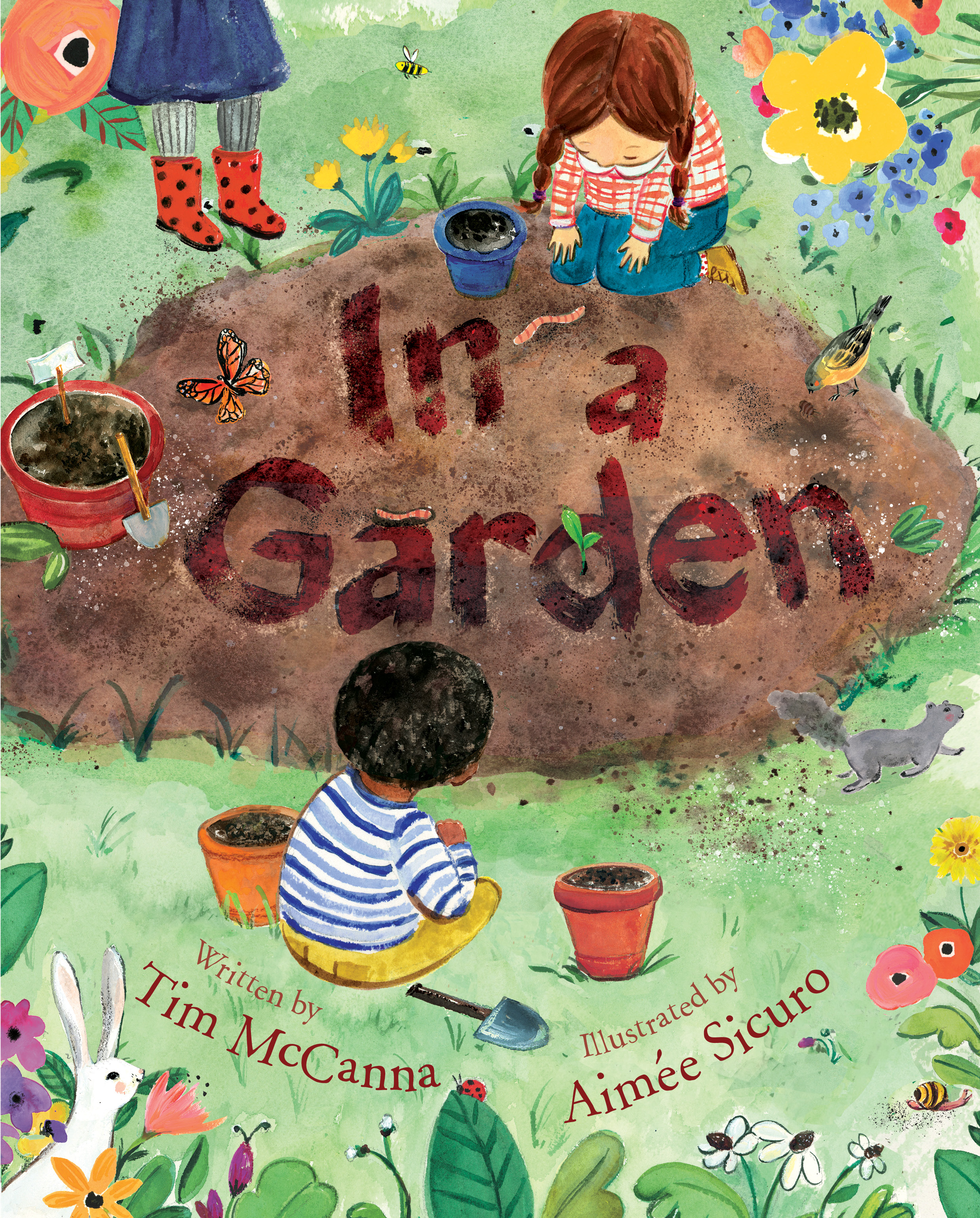 Sunday Story Time: In A Garden w/ Illustrator Aimée Sicuro