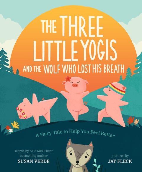 Virtual Sunday Story Time & Yoga: Three Little Yogis by Susan Verde