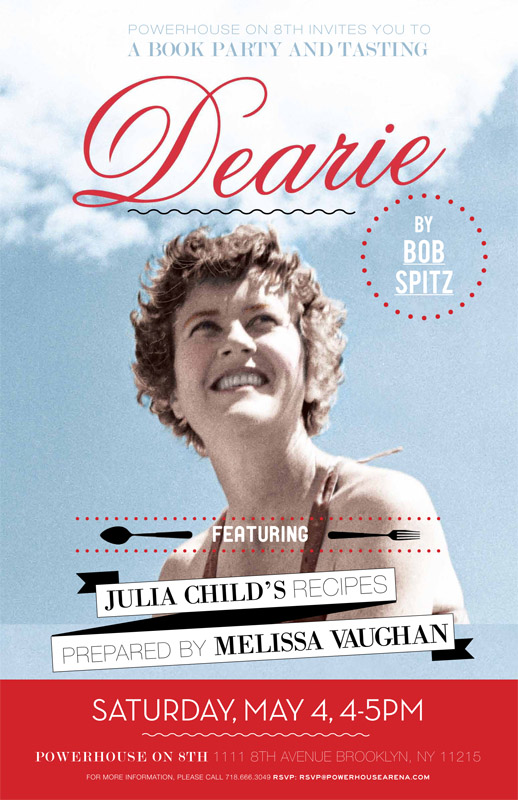 Book Party & Tasting: Dearie by Bob Spitz