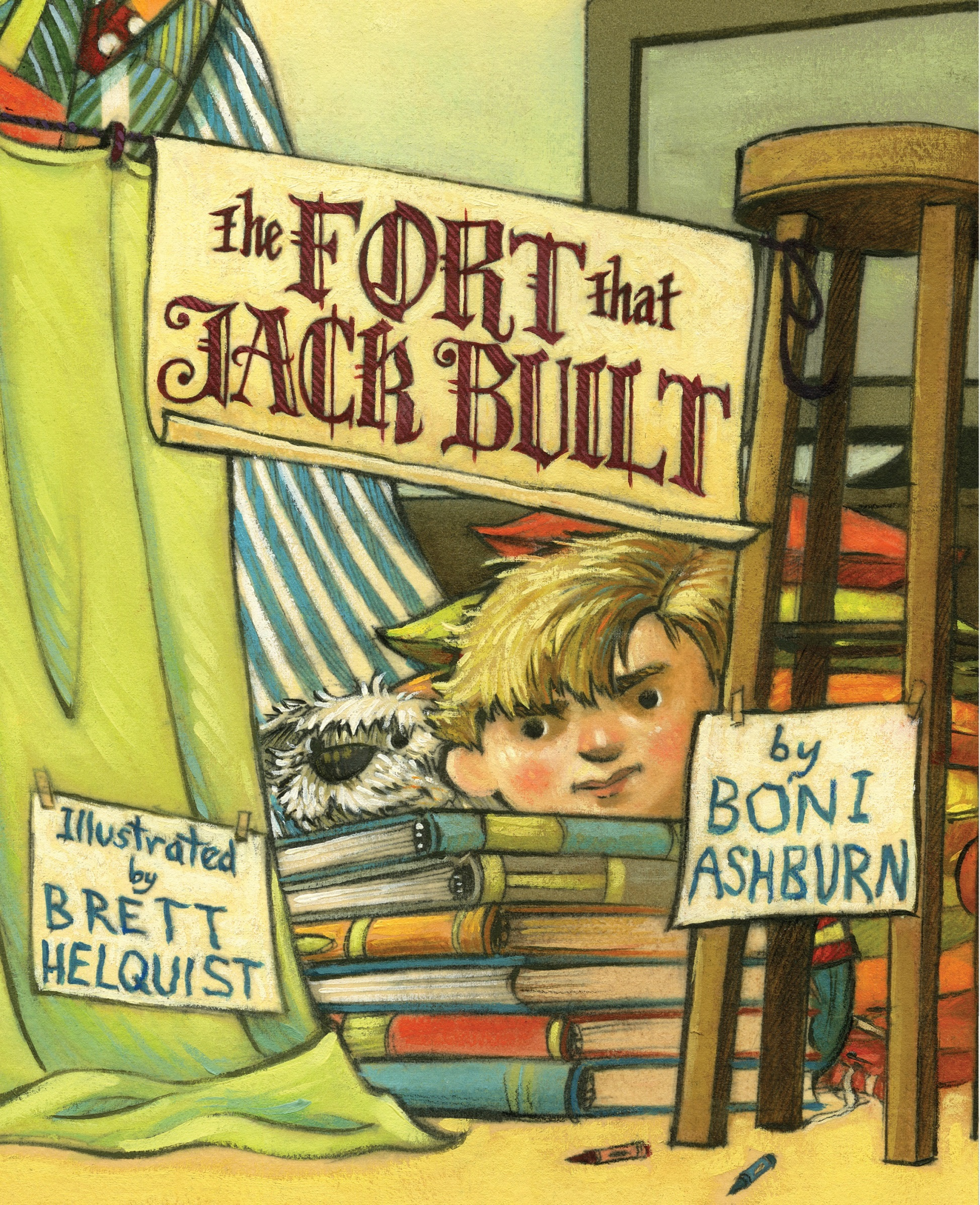 Story Time with Brett Helquist (illustrator of The Fort That Jack Built)