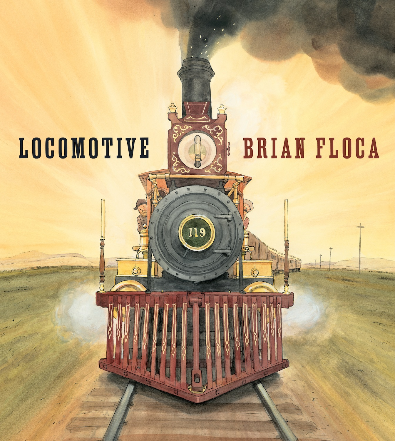Story Time with Brian Floca (author/illustrator of Locomotive)