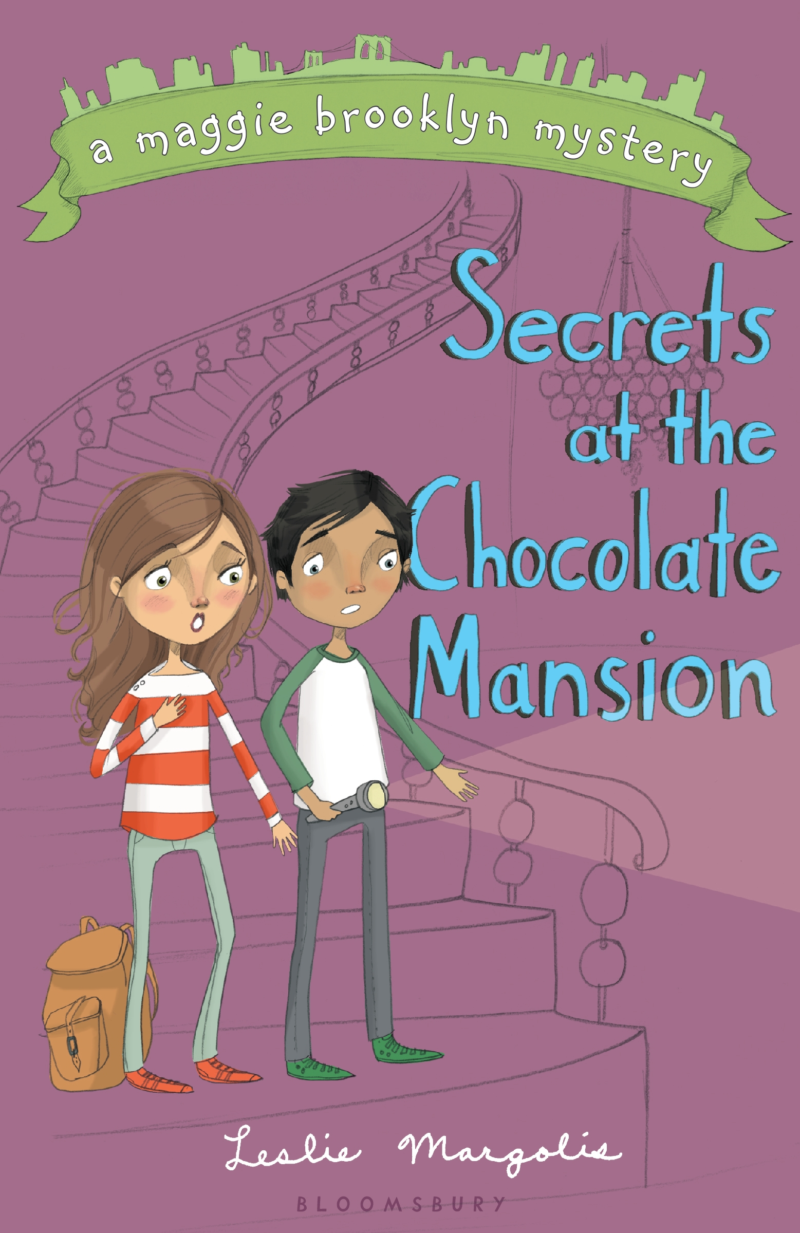 Book Party: The Secrets at the Chocolate Mansion by Leslie Margolis