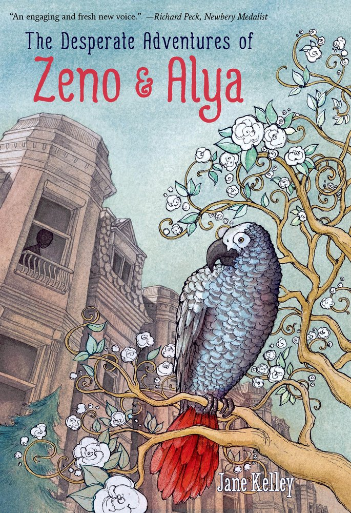 Book Party: The Desperate Adventures of Zeno and Alya by Jane Kelley
