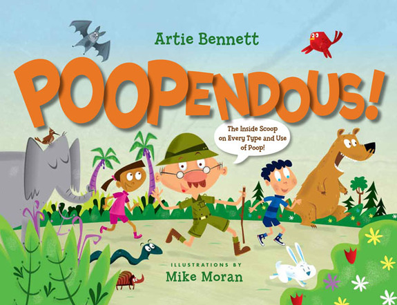 Story Time with Artie Bennett (author of Poopendous)