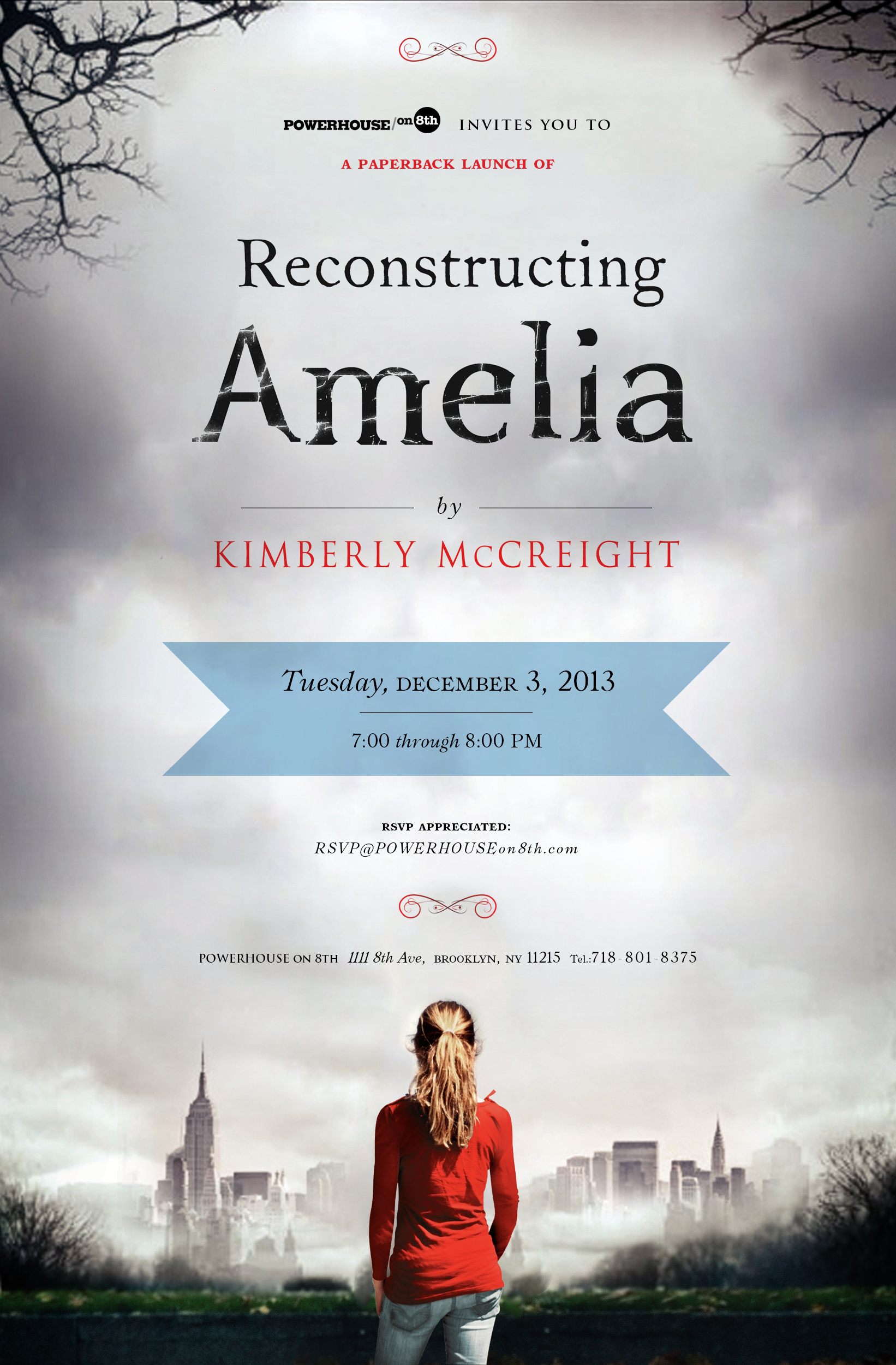 Paperback Launch: Reconstructing Amelia by Kimberly McCreight