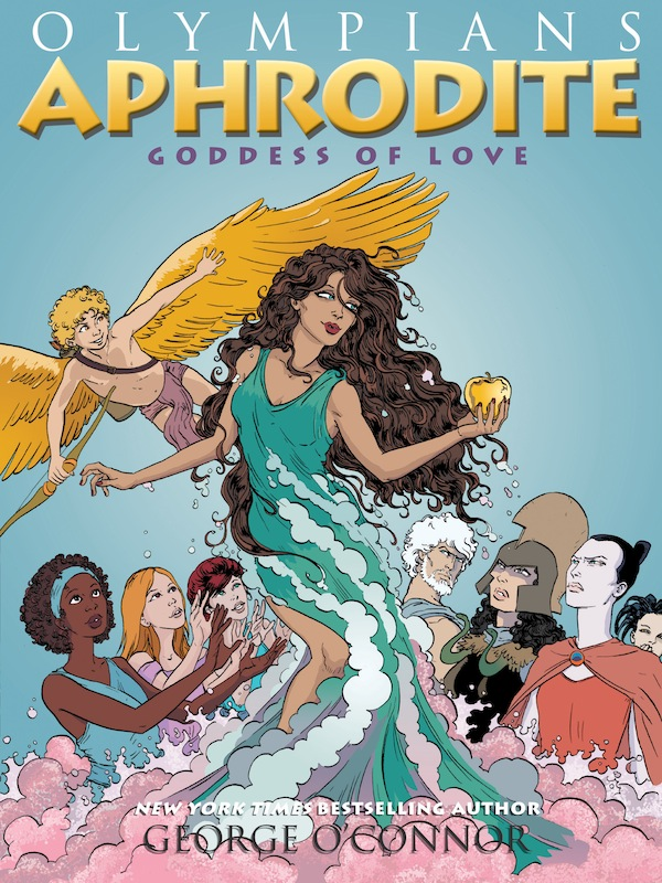 Book Party: Aphrodite by George O'Connor