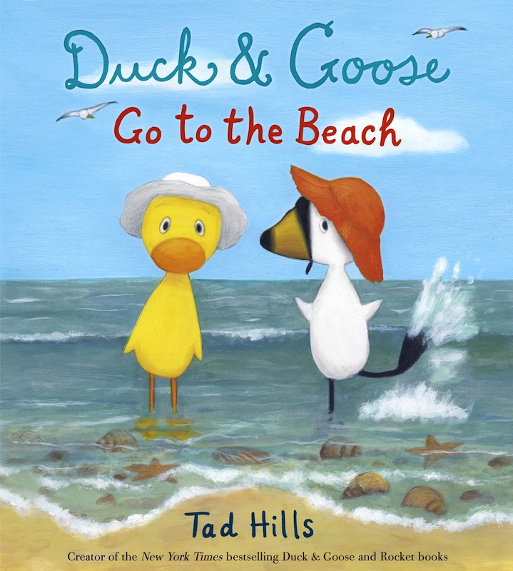 Story Time with Tad Hills (author/illustrator of Duck & Goose Go to the Beach)