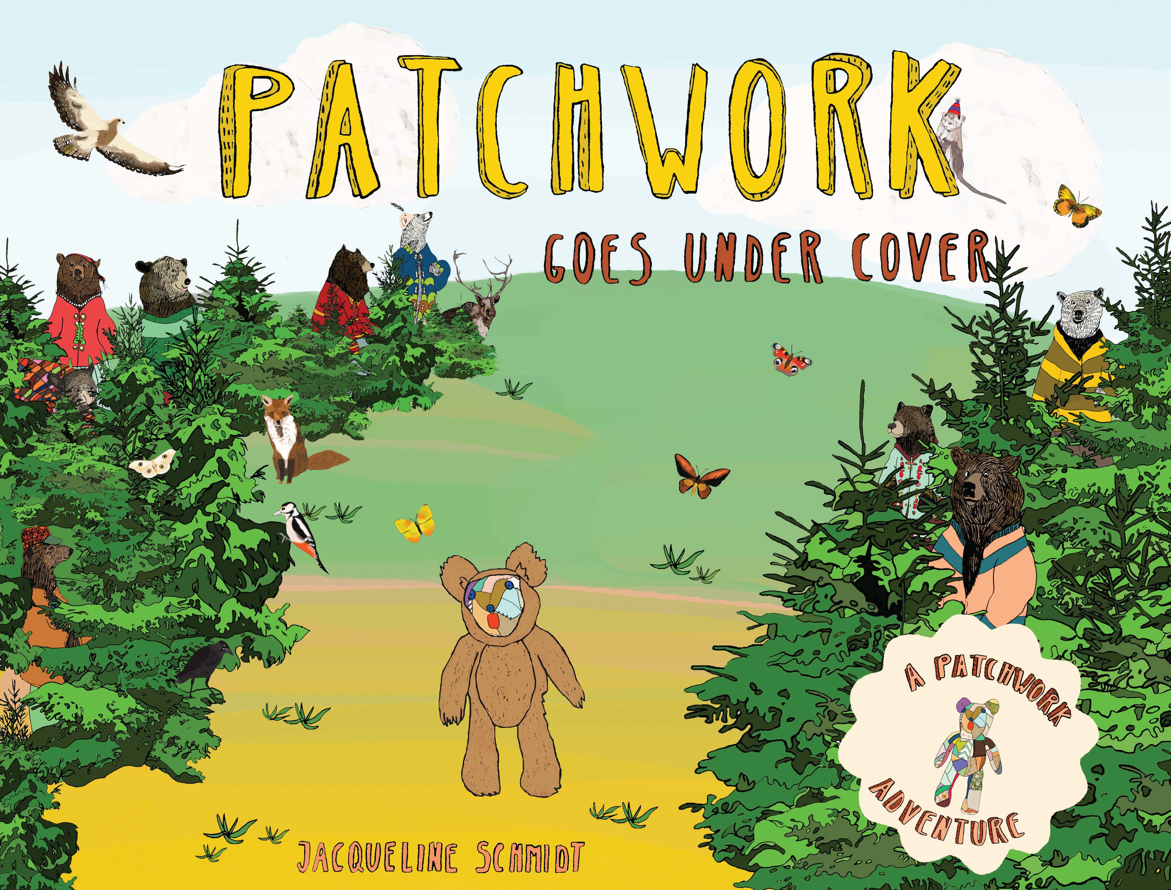 POW! Kids Sunday Story Time: Patchwork Goes Under Cover by Jacqueline Schmidt