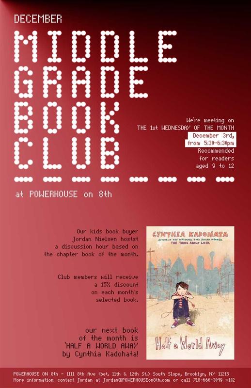 Middle Grade Book Club: Half a World Away by Cynthia Kadohata