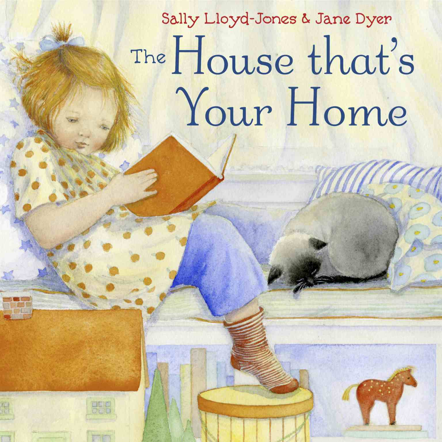 Sunday Story Time with Sally Lloyd-Jones (author of The House That's Your Home)