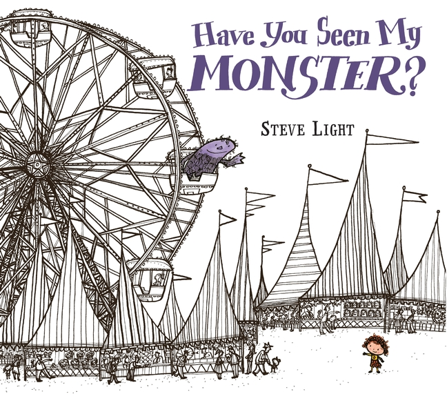 Sunday Story Time with Steve Light (author of Have You Seen My Monster?)