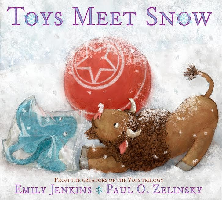 Sunday Story Time with Emily Jenkins and Paul O. Zelinsky (authors of Toy Meet Snow)