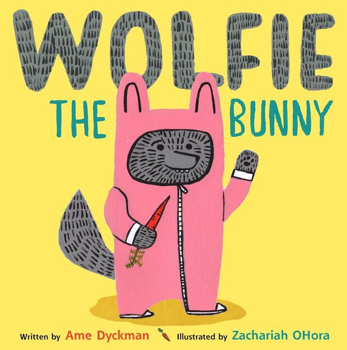 Sunday Story Time with Ame Dyckman (author of Wolfie the Bunny)