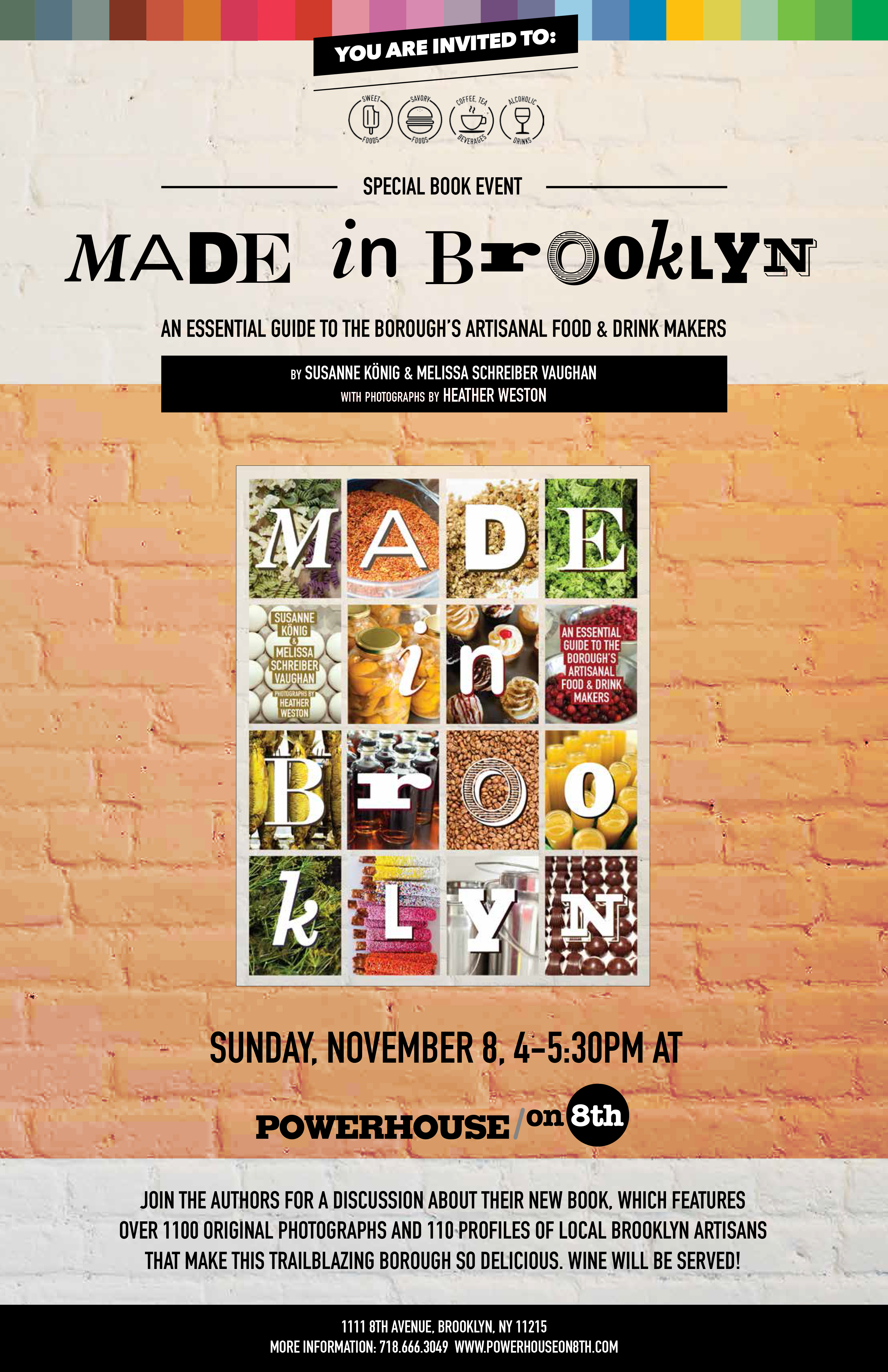 Made in Brooklyn: An Essential Guide to the Borough's Artisanal Food & Drink Makers by Susanne König and Melissa Schreiber Vaughan