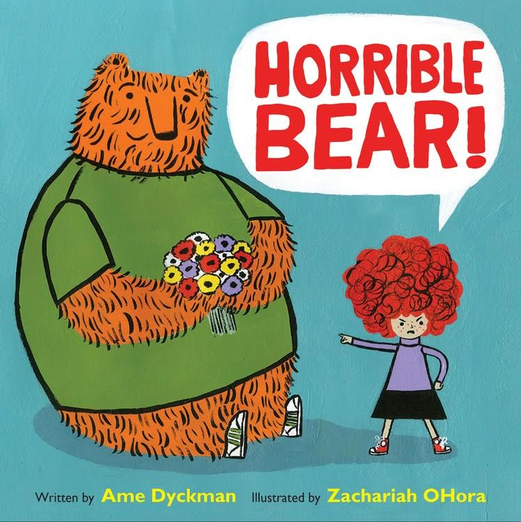 Sunday Story Time with Ame Dyckman and Zachariah OHora (author & illustrator of Horrible Bear!)