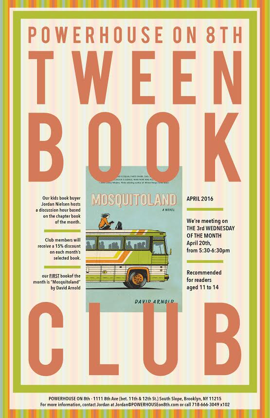 Tween Book Club: Mosquitoland by David Arnold