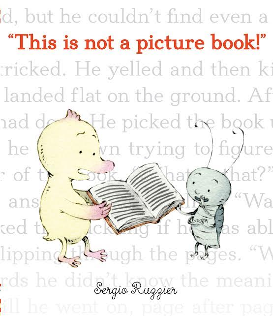 Sunday Story Time with Sergio Ruzzier (creator of This is Not a Picture Book)