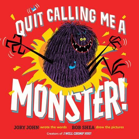 Sunday Story Time with Bob Shea (creator of Quit Calling me a Monster!)