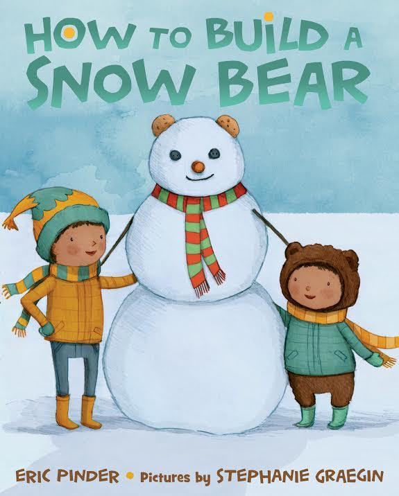 Sunday Story Time with Stephanie Graegin (illustrator of How to Build a Snow Bear)