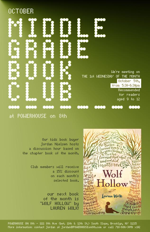 Middle Grade Book Club: Wolf Hollow by Lauren Wolk